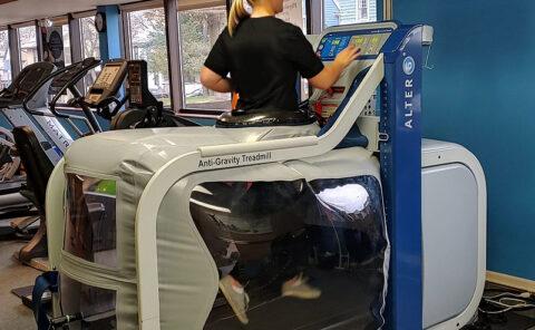 AlterG Anti-Gravity Treadmill - Aim Sports Medicine