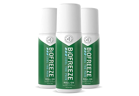 Biofreeze Roll-on 3 Pack