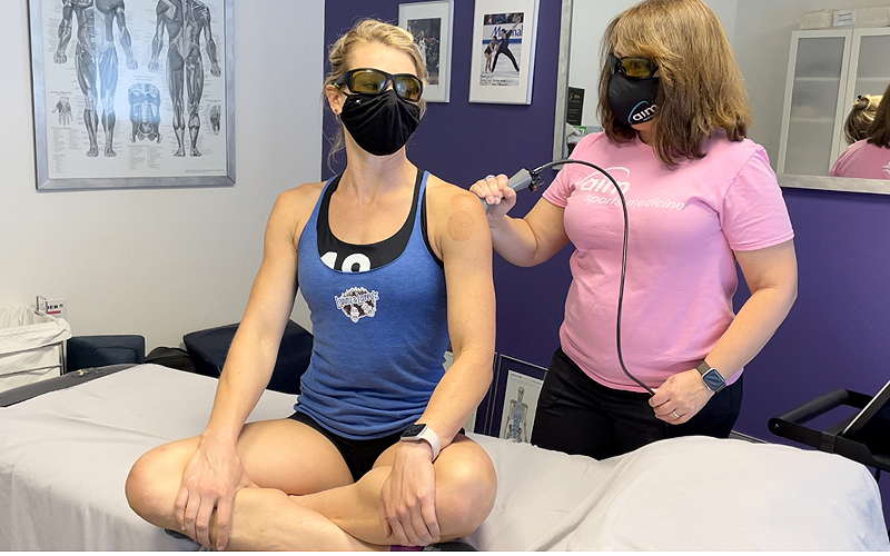Carina provides Deep Laser Therapy