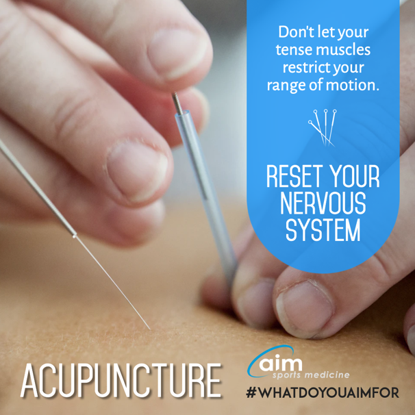 Acupuncture - Reset your nervous system